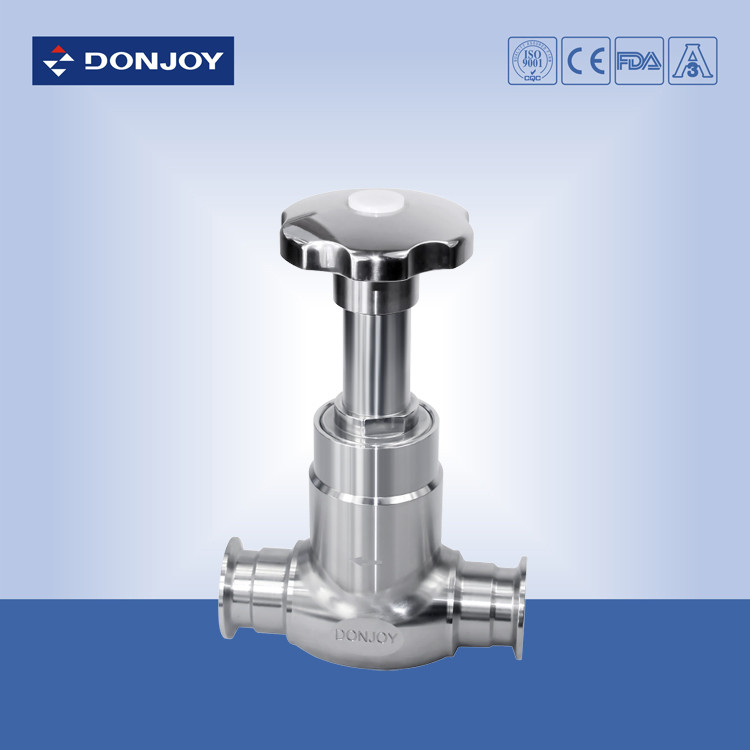 High Performance SS316L Angle Body Valve With Clamped / Automatica Control System