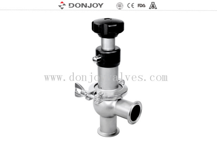 304 / 316L sanitary manual regulating reversing seat valve DN25 - DN150