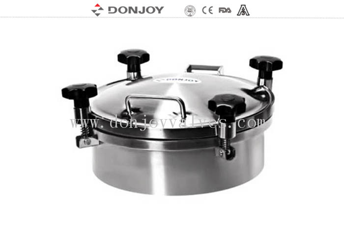 DONJOY 300mm Round manhole Cover With Pressure Welded To The Tank