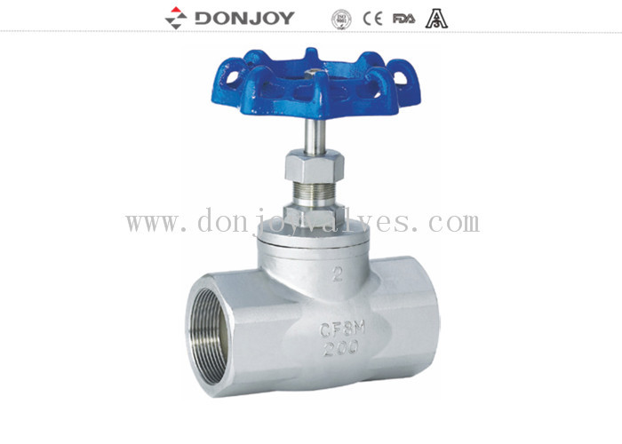 CFM/CFM8  Stainless steel female Gate valve, BSP Thread, Handl Operation