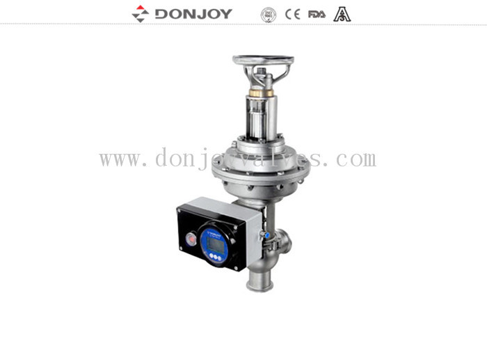 Pneumatic thin film Regulating Valve Control Valve with intelligent positioner